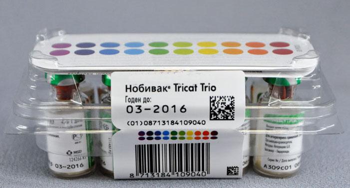 вакцина нобивак трикет трио для кошек инструкция - фото 6